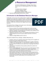 9 Database Resource Management