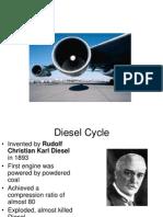 Diesel Brayton Cycles