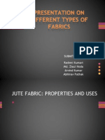 Presentation on Different Types of Fabrics