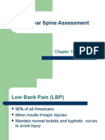 Lumbar Spine Assessment