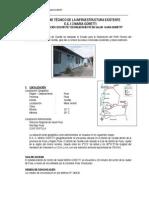 Informe Tecnico de La Infraestructura Existente
