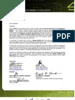IDEYA Solicitation Letter (blank)