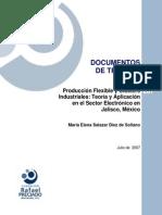 Teoria y Aplciacion en El Sector Electronico en Jalisco