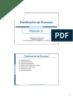 SO-mod 5 - Planificacion de Procesos- 2010
