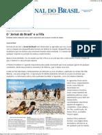 Jornal Do Brasil - Opinião - O 'Jornal Do Brasil' e a Fifa