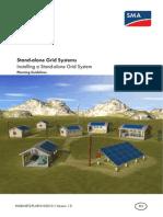 Standalone Grid System SMA