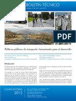 38 Políticas Públicas Transporte