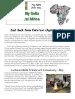Seitz Newsletter 7.2014