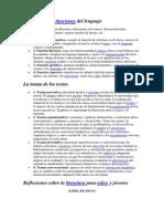 Los Textos y Las Funciones Del Lenguaje11111111111111