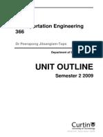 308887 Transportation Engineering 366