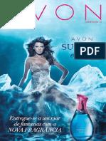 Folheto Avon Cosméticos - Campanha 15/2014