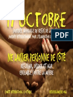 October 17 Poster 2014 (French)