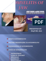 Osteomyelitisofjaw dental ppt