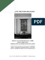 Odinani the Igbo Religion eBook