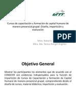 Cursos de Capacitación y Formación de Capital Humano UII