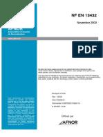 NF en 13432 English Version
