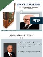 38. Bruce Waltke - Jose Zeth Listo