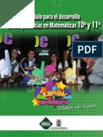 Modulo Matematicas Diez Once