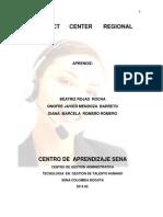 Pyme de Contact Center Regional Grupo 9