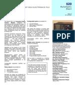 Dse520 Data Sheet