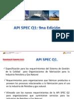 API SPEC Q1 9na Edicion