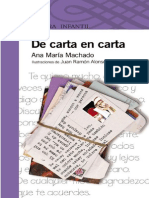 De Carta en Carta - Ana María Machado