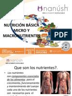 Nuevo Multinivel Nutricion Basica Micro y Macro Nutrientes