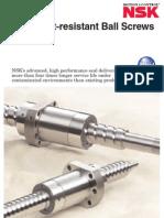 TNSK_CAT_E3233_High Dust-resistant Ball Screws V1 Series