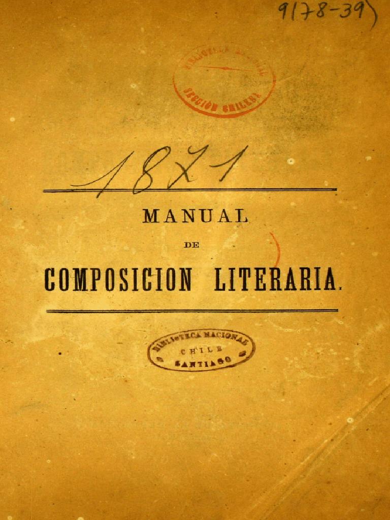 Manual de Composicion Literaria Chile