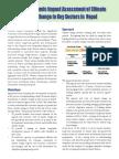 Eco Impact Assessment Newsletter
