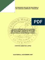 Ejecutabilidad Acuerdos Suscritos Centro Mediacion Del o j