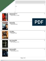 32gb iPod Touch Movie List