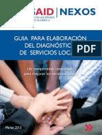 Guia Elaboracion Diagnosticos Servicios Locales Usaid Nexos 11-04-2013