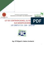Modulo II Nueva Ley de Contrataciones Del Estado y Su Reglamento Aplicado a Obras