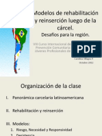 Carolina Villagra Rehabilitacion y Reinsercion Nicaragua