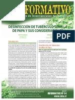 84-Desinfeccion de Tuberculos Semilla de Papa y Sus Consideraciones