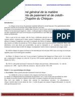 Résumé Général de La Matière Instruments de Paiement Et de Crédit (1)