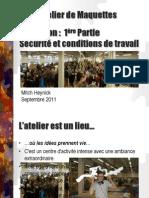 Atelier de Maquettes Formation-15!09!11