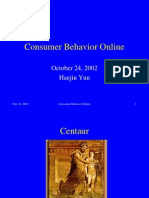 Consumer Behavior Online