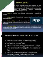 Judicial Ethics Report