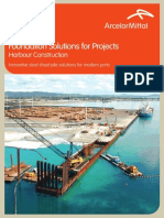 Construccion de Puertos Con Tablaestaca