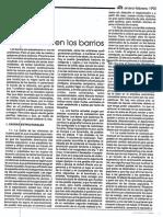 Violencia en Los Barrios 1992