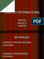 Derecho Internacional Fuentes