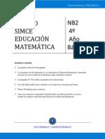 Ensayo n4 Matematicas 4b 2008