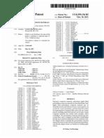 Polyurethane composite materials (US patent 8299136)