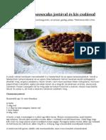 sajttorták- Kiflik- Pogácsák És Más receptek