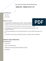 FE Study Guide POLS 102 Online