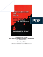 Declaracion de Guerra - Screaming Wolf