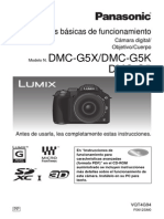 Manual de Cámara Panasonic Lumix DMC-G5