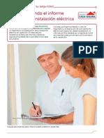 Elaborando El Informe de Una Instalación Eléctrica